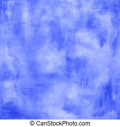 Abstract boho blue watercolor background - Abstract boho...
