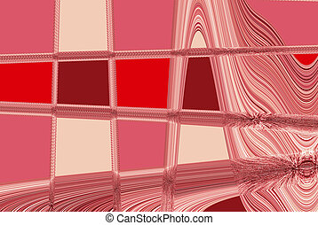 Pink Light Abstract Background