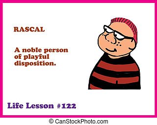 Rascal - Education cartoon about a rascal