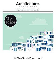 Architecture background Cityscape 3