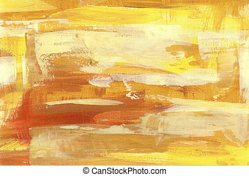 yellow abstract backround handmade l painting - abstract...