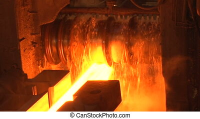 Hire a hot blank in the shop - Metallurgical production of...