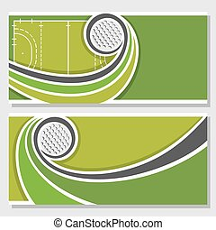 Theme of field hockey - Background images for text on the...
