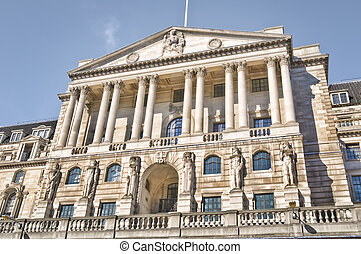 Bank of England, London - Facade of Bank of England(formally...