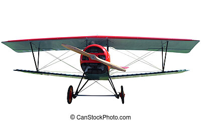 7/8 Replica of a 1916 French Nieport Biplane - 7/8 Replica...