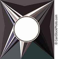 Abstractive Rays Background - Shades of grey abstract rays...