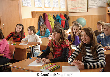 School life routine