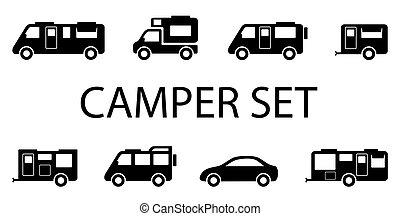 camper van icons