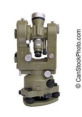 Theodolite - Geodetical instrument for precise angles and...