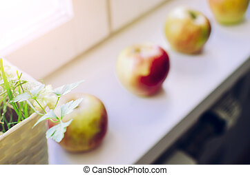 Apples On The Window
