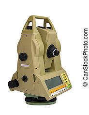Total Station - Digital geodetical instrument for precise...
