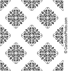 Ornate seamless pattern - Abstract background with the image...