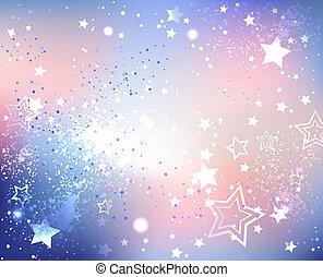 iridescent pink quartz and serenity - iridescent textured...