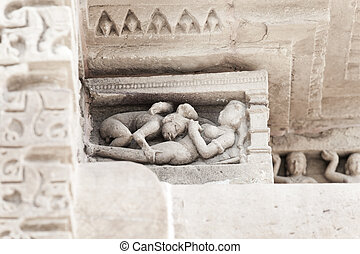 stone carvings in khajuraho india