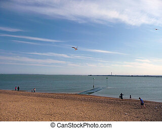 Southend Coast - The coast as seen from Southend in England....
