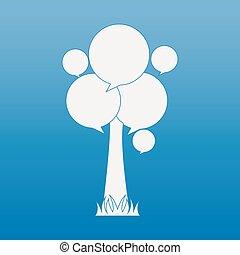 tree icon design