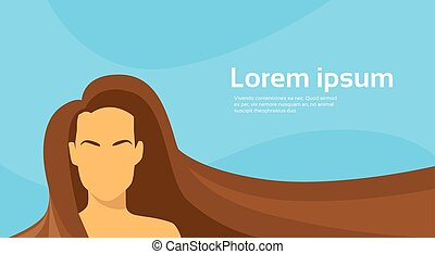 Woman Beauty Brunette Long Hair Silhouette
