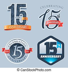 15th Anniversary Logo