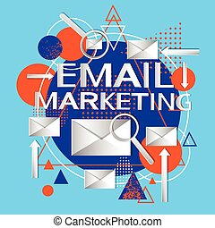 Marketing Email Envelope Send Business Mail