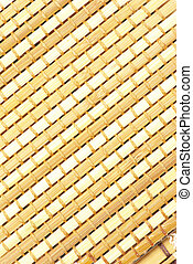 wood background - Wicker texture bamboo wood background