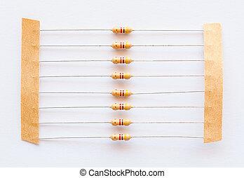 Passive resistor - Resistor passive two terminal electrical...