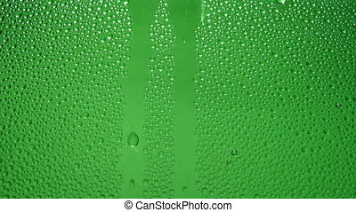 Waterdrops - Raindrops on glass
