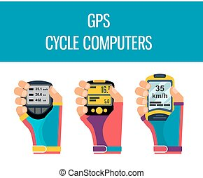 gps computers and apps for bike and cycling - gps computers...