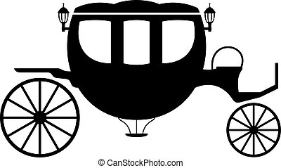 Carriage, shade picture