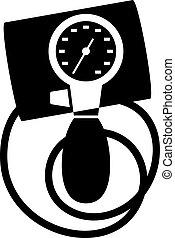 Tonometer, shade picture