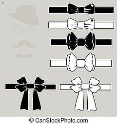 set tie butterflies