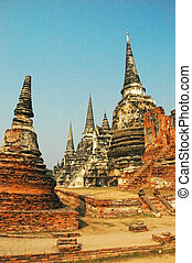 Ayutthaya - Buddhist stupa in Ayutthaya, Thailand
