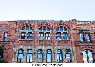 Morris 1890 Building - Old Morris 1890 Building in...