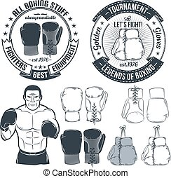 boxing gloves logo