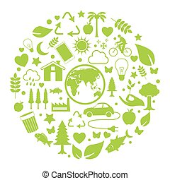Ecology and environment icon