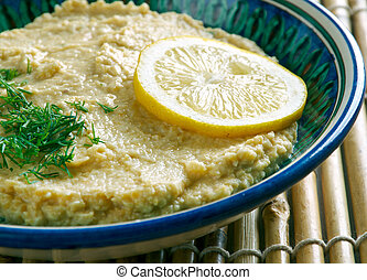 Limon Soslu Humus - Hummus with Lemon Sauce