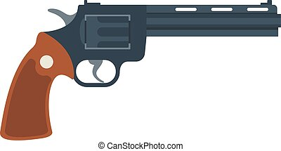 Old American colt revolver wild west handgun danger crime...