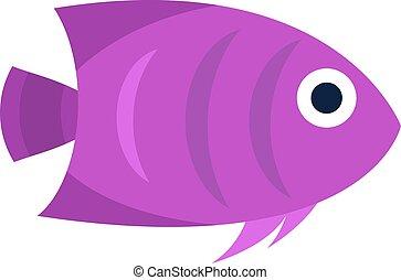 Abstract aquarium vector fish underwater nature animal...