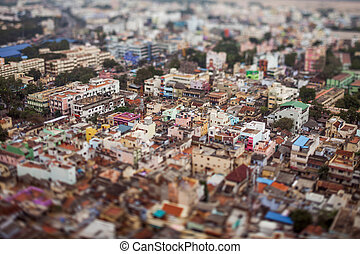 Birds eye view of Tiruchirappalli - India Birds eye view of...