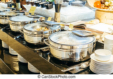 Catering buffet - Selective focus point Catering buffet for...