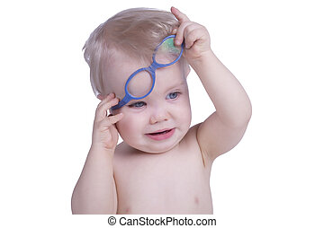 infante, lentes