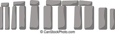 Historical monument Stonehenge ancient rock England UK. -...