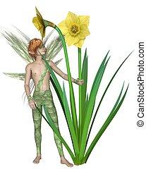Daffodil Fairy Boy