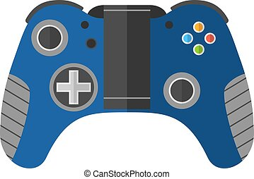 Game console joystick vector illustration Game console...