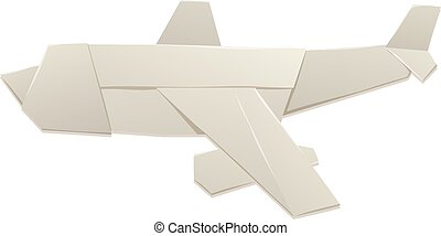 Origami airplane and origami paper plane handmade creative...