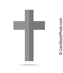 Black Christian Cross