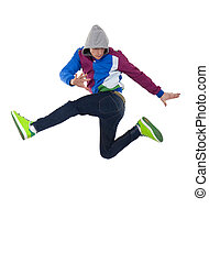 dancer jumping