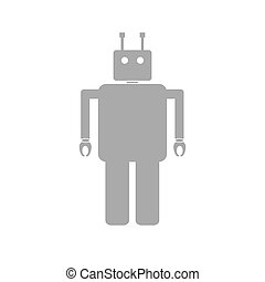 Robot illustration.