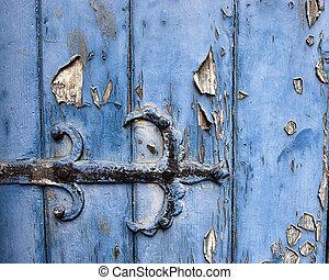 Hinge on an Old Door