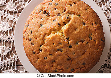 ASSADO, biscoito, macro, chocolate, freshly, bolo,...