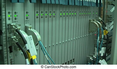 Working equipment in mobile switching center - Equipment...